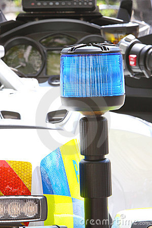 Police Motorcycle Light
