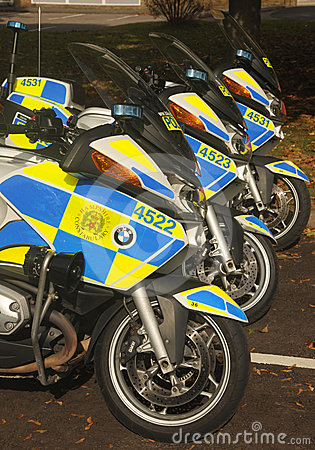 Police motorcycles Editorial Photo
