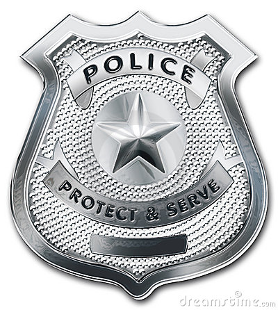Free Police Officer Badge Stock Photos - 13977603