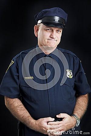 Police Officer - Frustration