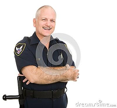 Police Officer - Smiles