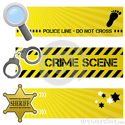 Police & Order Horizontal Banners