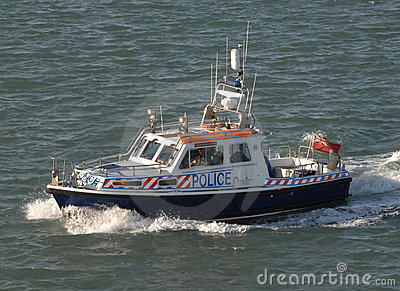 Police patrol boat Editorial Photo