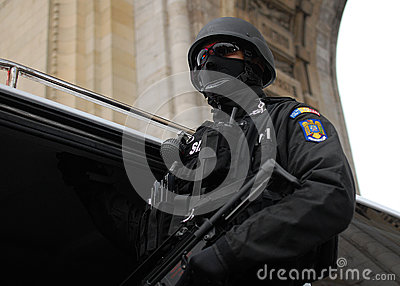 Police Soldier Editorial Photography