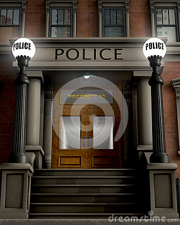 Free Police Station Royalty Free Stock Photography - 26138277