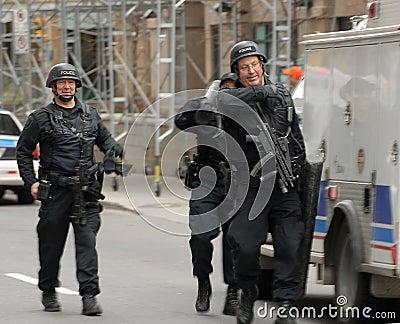 Police SWAT members Editorial Stock Photo