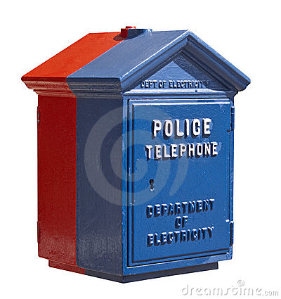 Police Telephone Box