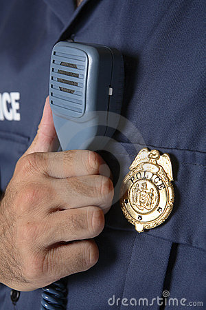 Free Police Uniform Detail Royalty Free Stock Photos - 3251988