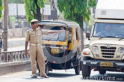 Policeman Editorial Photography
