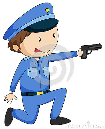 Free Policeman Stock Images - 54330904