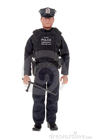 Policeman toy doll