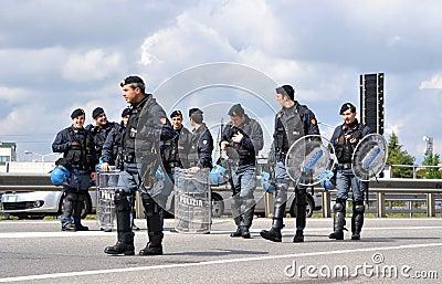 Policemen Editorial Image