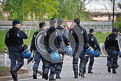 Policemen Editorial Photo