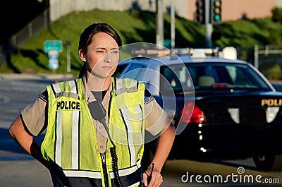 Policier féminin