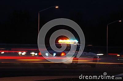 Policjant noc
