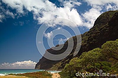 Polihale Beach, Kauai, Hawaii