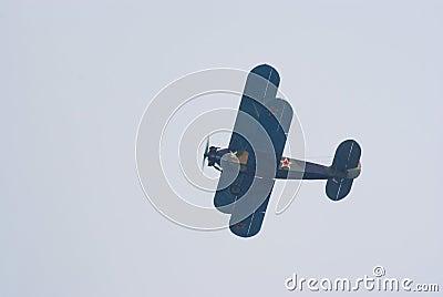 Polikarpov Po-2 biplane Editorial Image