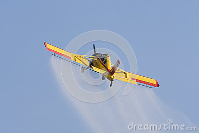 Polish agricultural aircraft PZL-106 Kruk Editorial Photo