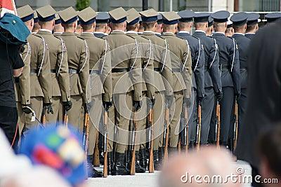 Polish army Editorial Image