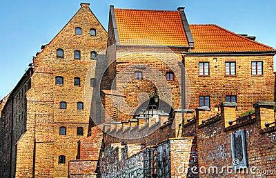 Polish castle in Grudziadz
