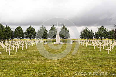 Polish cemetery in Champagne-Ardenne