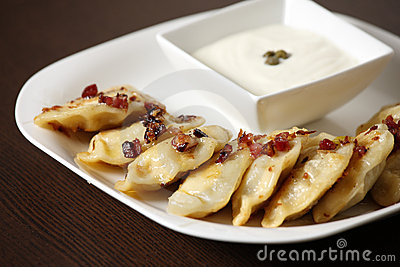 Polish Christmas dumplings