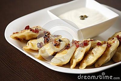 Polish Christmas dumplings