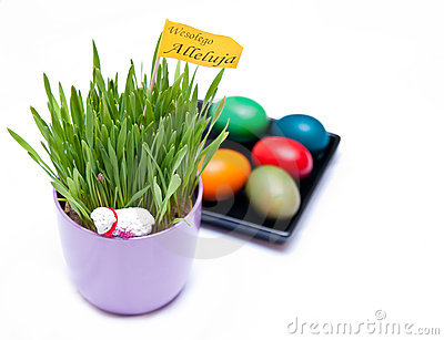 Polish easter decoration