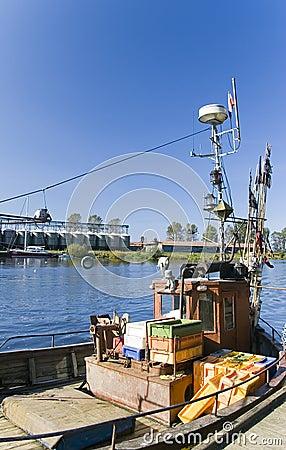 Polish fishing boat
