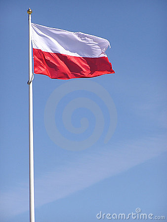 Free Polish Flag Royalty Free Stock Photography - 5896257
