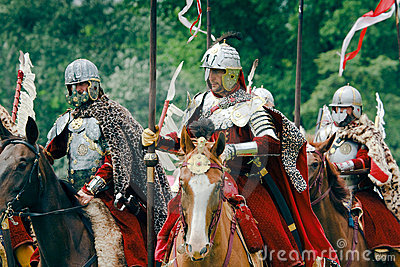 Polish Hussars Editorial Image