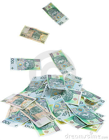 Polish Money Stock Image - Image: 24221061