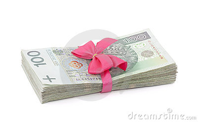 Polish money gift