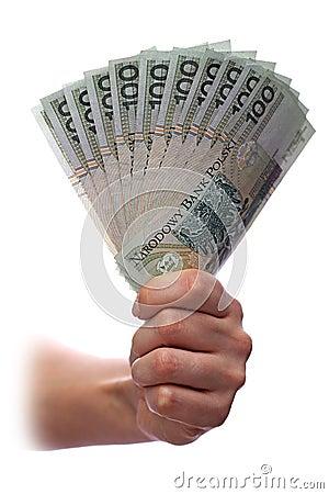 Polish one hundred banknote