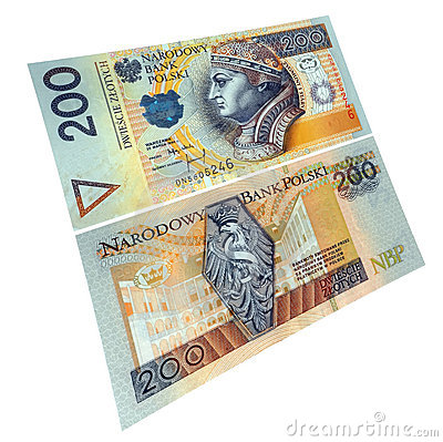 Polish paper currency