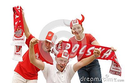 Polish soccer fans