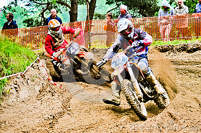 Polish Western Zone Motocross Championship Round VI Poland Editorial Image