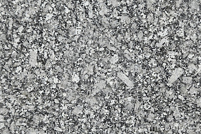 Polished black and white granite texture