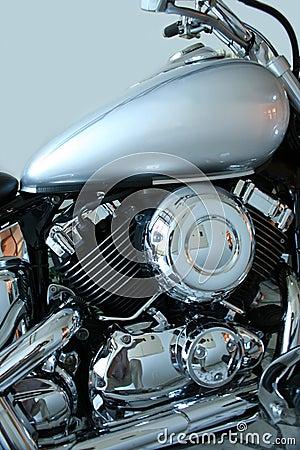Free Polished Motorcycle Royalty Free Stock Photos - 6204338