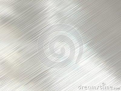 Polished steel metal texture