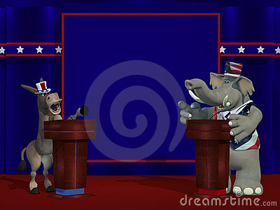 Political Debate Stock Photography - Image: 19332892
