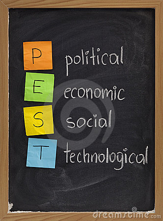 Political, economic, social, technological