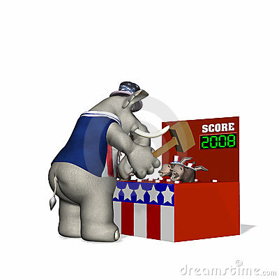 Political Fair - Whack-a-Donkey