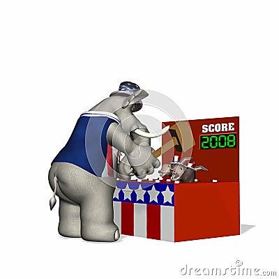 Political Fair - Whack-a-Donkey
