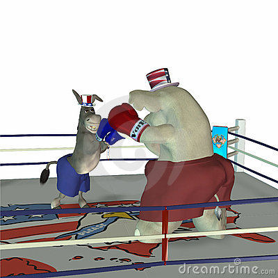 Free Political Party - Boxing 2 Royalty Free Stock Photos - 568858
