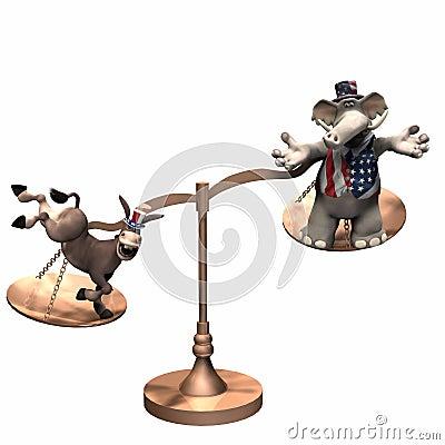 Political Scales - Democrat