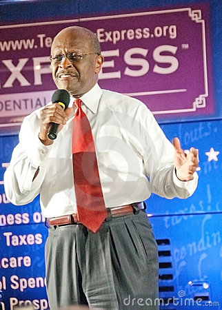 Politician Herman Cain Editorial Photo