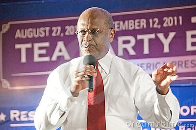 Politician Herman Cain Editorial Stock Photo