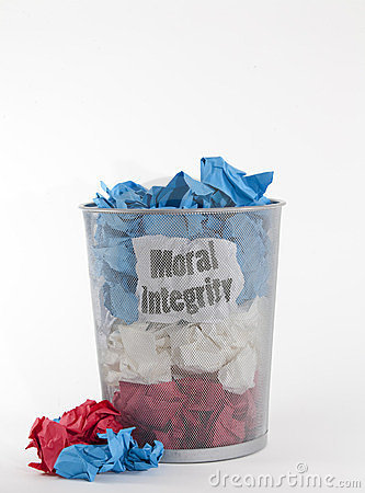 Politics: Moral Integrity on White