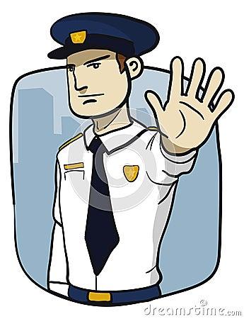 Politieagent Royalty Vrije Stock Afbeeldingen Afbeelding